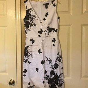 Sleeveless butterfly dress